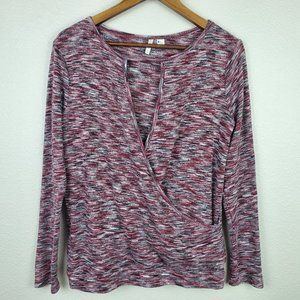 Cato Multicolor Long Sleeve Top Sz Small